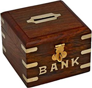 banque en bois