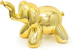 tirelire en forme de balon éléphant