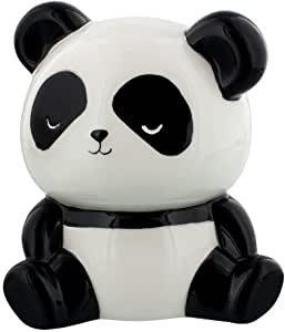 panda en céramique avec fente pour les pièces