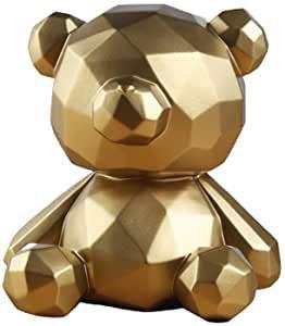 tirelire ours géométrique design