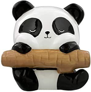 panda qui tient un bambou