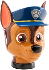 tirelire garçon en forme de chien policier