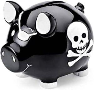 tirelire cochon pirate